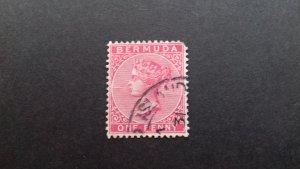 Bermuda 1883 -1898 Queen Victoria - New Watermark Used