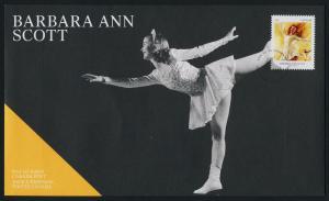 Canada 2705 on FDC - Winter Olympics, Barbara Ann Scott