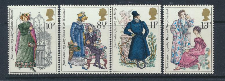 GB QE II Mint never Hinged   SG 989 - 992 Set