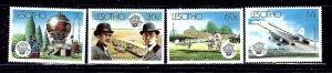 Lesotho 403-06 MNH 1983 Manned Flight Bicentennial    (ap2098)