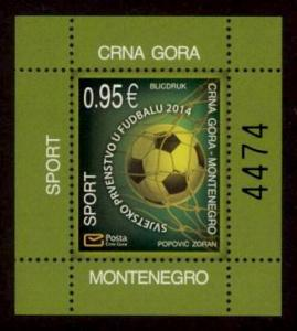 Montenegro Sc# 365a MNH FIFA World Cup 2014 (S/S)
