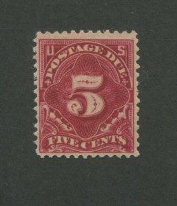 1895 United States Postage Due Stamp #J34 Mint Lightly Hinged VF Original Gum