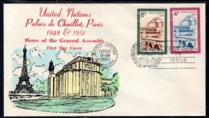 UN New York 75-76 General Assembly Unknown U/A FDC