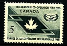 Canada 1965 Scott 437 International Cooperation Year MNH