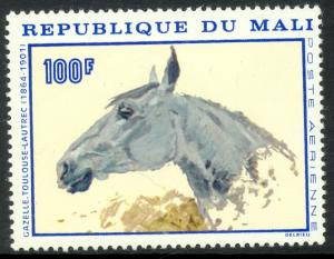 MALI 1967 Head of Horse by Toulouse-Lautrec Airmail Sc C51 MNH