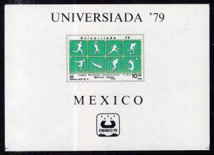 Mexico C614 Souvenir Sheet MNH VF