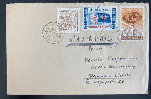1964 Naju South Korea Airmail Cover To Wanne Germany