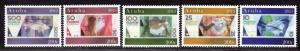 $Aruba Sc#425a-e M/NH, Cv. $11.50
