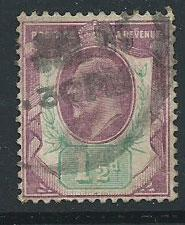GB Edward VII SG 221 Used  shade