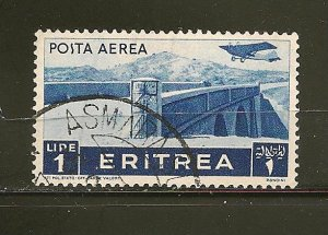 Eritrea C11 Airmail Bridge Used