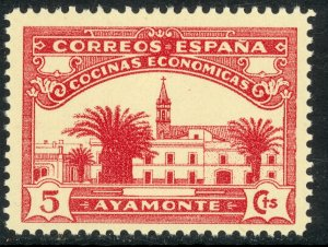 SPAIN 1938 AYAMONTE 5c Charity Label MNH