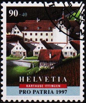 Switzerland. 1997 90c+40c. S.G.1355  Fine Used