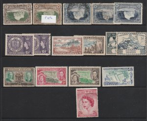 Southern Rhodesia a small lot KGVi & QE2 era