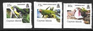 CAYMAN ISLANDS SG1124/6 2007 BIRDS S/A MNH