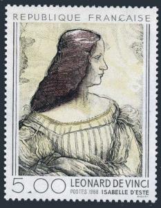 France 2007,MNH.Michel 2581. Isabelle d'Este,by Leonardo da Vinci,1986.