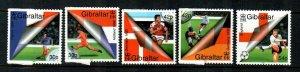 Gibraltar #832-836  MNH  Scott $5.65