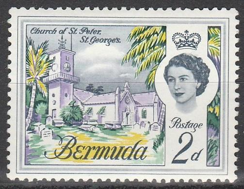 Bermuda #176 F-VF Unused  (S2938)