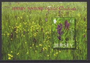 JERSEY SGMS1098 2003 WILD ORCHIDS MNH