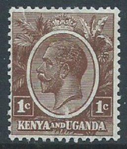 Kenya, Uganda & Tanganyika, Sc #18, 1c MH