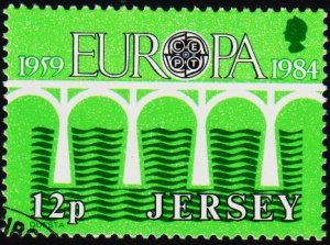 Jersey. 1984 12p S.G.331 Fine Used