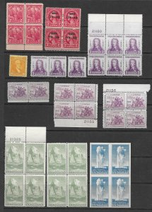 US 643,47,747,760 and more MNH and MH. see desc. 2020 CV $142.20