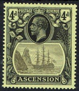 ASCENSION 1924 KGV SHIP 4D