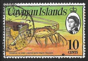 [7064] Cayman Islands # 338 Used