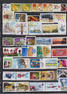 LOT OF DIFFERENT STAMPS OF CANADA USED(41) LOT#321