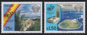 Nauru 428-429 MNH (1995)