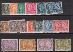 Canada #50 - #65 Mint Jubilee Set