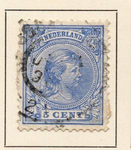 Netherlands 1891-93 Early Issue Fine Used 5c. 253278
