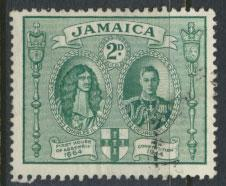 Jamaica SG 135a perf 12½ x 13 Used SC# 130     see details