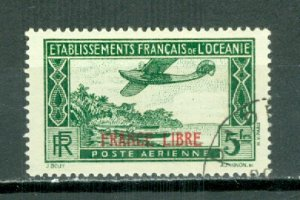 FRENCH POLYNESIA AIR #C2...USED NO THINS...$4.75