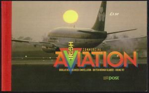 EIRE 1999 Commercial Aviation Stamp Presteige Booklet