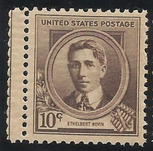 883 10c Famous American MNH VF Centering