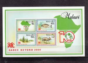 MALAWI 573a SOUVENIR SHEET MNH 2014 SCOTT CATALOGUE VALUE $16.00