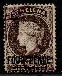 $St. Helena Sc#38 used, F-VF, Cv. $42.50