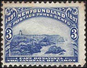 Newfoundland #63 MH