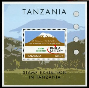 Tanzania Landscapes Stamps 2008 MNH Phila Africa 06 Mount Kilimanjaro 1v S/S