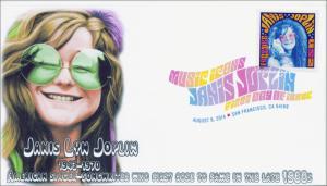SC 4916, 2014 Janis Joplin, Digital Color Postmark , FDC,  Item 14-140