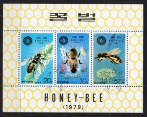 NORTH KOREA - M/S - HONEY-BEE - APICULTURE - 1979 -