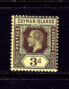 Cayman Is 37 MH 1913 issue
