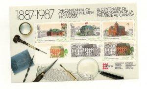 Canada 1987 CAPEX souvenir sheet Unitrade #1125a VFMNH CV $4.50