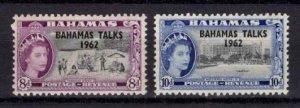1963 Bahamas Talks Optd. Set