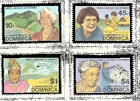 Dominica 758-761 (M)