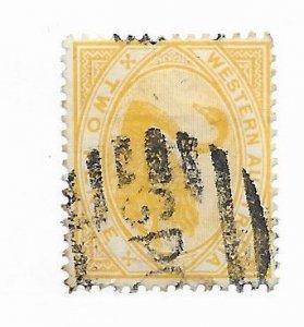 Western Australia #74 Used - Stamp - CAT VALUE $3.50