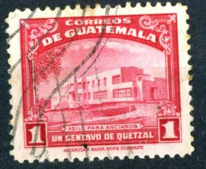Guatemala - SC #305 - Used - 1942 - Item G107