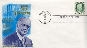 United States, First Day Cover, Banking