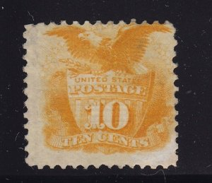 116  F-VF original gum mint previously hinged nice color cv $ 1900 ! see pic !