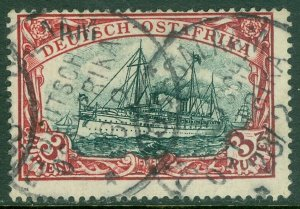 EDW1949SELL : GERMAN EAST AFRICA 1900 Scott #21 Very Fine, Used. Catalog $200.00